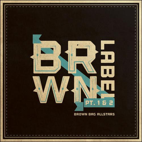 brown label